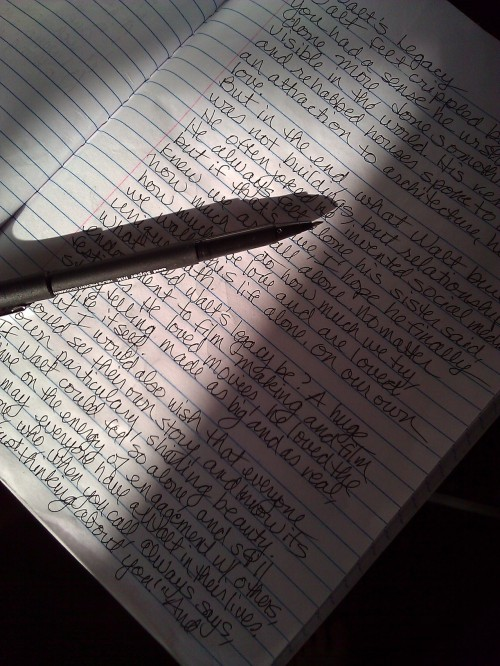 Writing can help jump start the grief healing process.