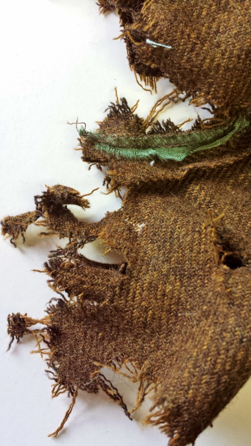 See how Bunster turns an ordinary piece of fiber into a million tiny pieces.