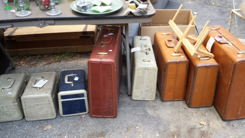 Suitcases, anyone?