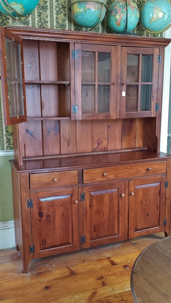 A very useful piece of furniture, this hutch has been with us for 26 years!