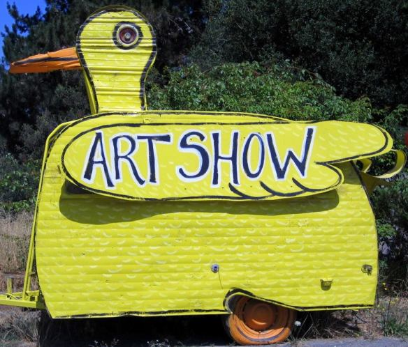 the duck art show