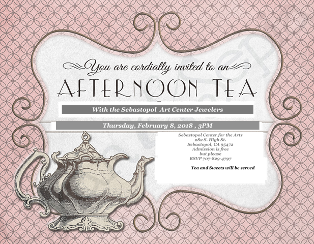 Jewelers' Tea! This Thursday!
