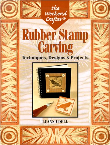 carving rubber stamps book cover